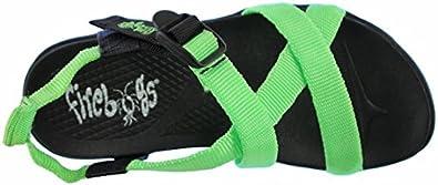 Firebugs Stripes Light-Up Summer Sport Sandal