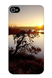 Hot Rwvhig-5645-waejvvl Case Cover Protector For Iphone 4/4s- Landscapes Nature Lakes / Special Gift For Lovers