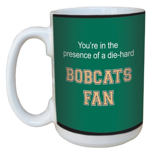 - Tree-Free Greetings lm44834 Bobcats College Basketball Ceramic Mug with Full-Sized Handle, 15-Ounce