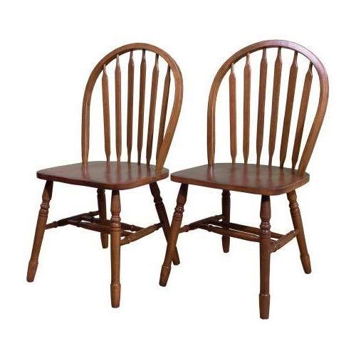 - DK Furniture Arrowback Chair (Set of 2), Oak