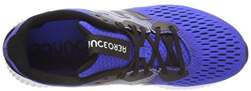 adidas Men's Aerobounce M, HIRBLU/Cblack/Cblack Hirblu/Cblack/Cblack