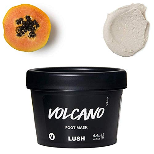 Lush Cosmetics Volcano Foot Mask, 4.4 Ounces