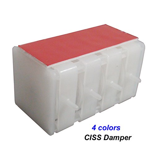 CEYE for HP Canon CISS CIS Continuous Ink Supply System Ink Flow Damper One Way Valve 4color - Ink System Continuous Flow
