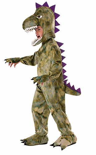 Forum Novelties Kids Dinosaur Costume, Green, Medium -