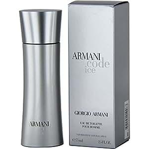 Giorgio Armani Code Ice Eau De Toilette Spray, 2.5 Ounce