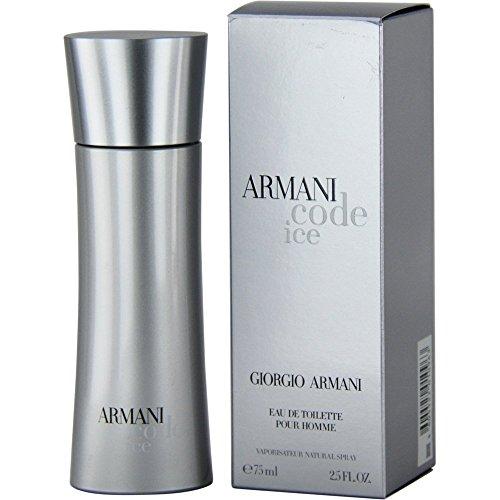 Giorgio Armani Code Ice Eau De Toilette Spray, 2.5 Ounce (Perfume Armani Code Women)