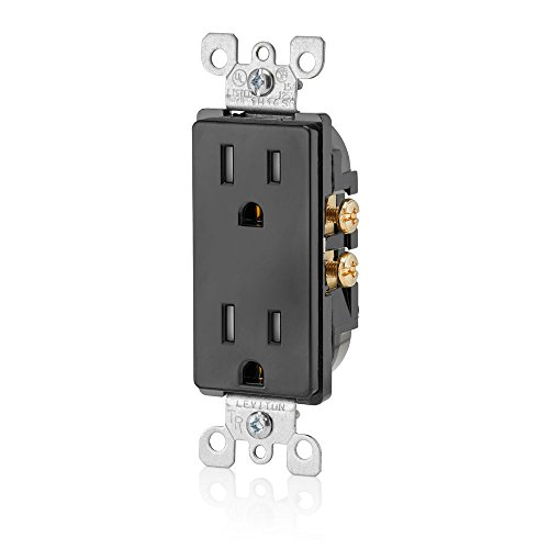 Leviton T5325 E Resistant Receptacle Grounding