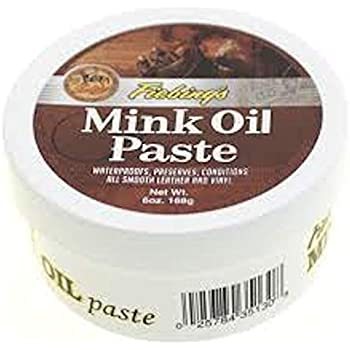 Amazon Com Fiebing S Mink Oil Paste 6 Oz Softens