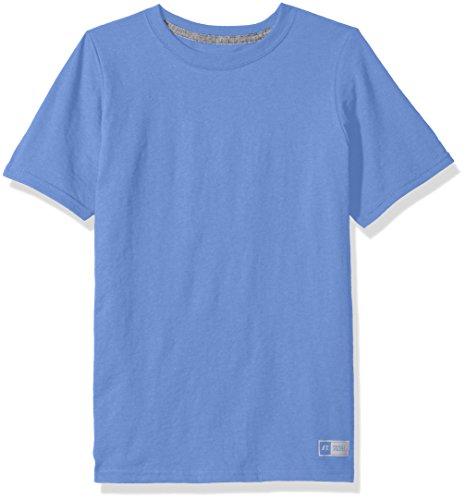 57d85eda Galleon - Russell Athletic Big Boys' Essential Short Sleeve Tee, Collegiate  Blue, XL