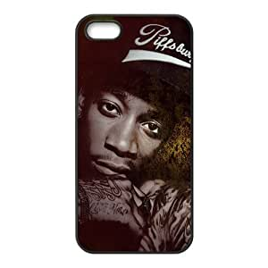 customized wiz khalifa for Iphone 5,5s case iphone 5-brandy-140114