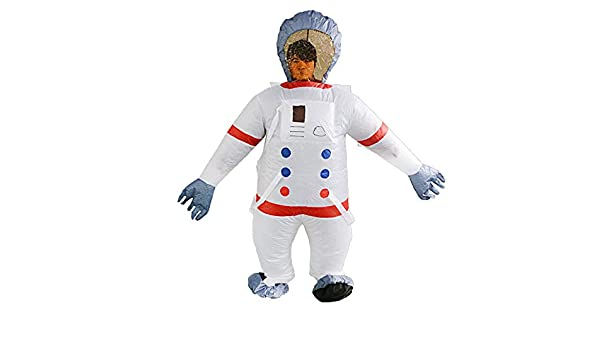 Ellyeall Ropa Inflable Traje Inflable Astronauta Espacial Show ...