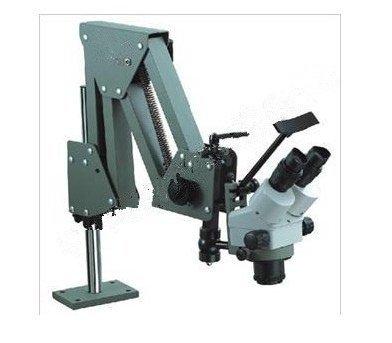 Gowe 7X-45X Jewelers Microscope Gem Diamond Setting Microscope jewelry micro scope with Stand