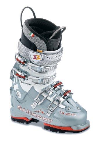 Alpine Boots Garmont Ski (Garmont Women's Xena Ski Boot (Blue Pearl/White, 25.0 Mondo))