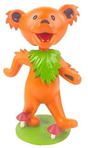 Kollectico DB6O Grateful Dead Dancing Bear Bobblehead, Orange - Orange Bobble Head