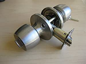 Defiant Brandywine Single Cylinder Stainless Steel Entry