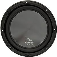 Harmony Audio HA-R124 Car Stereo Rhythm Series 12 Sub 600W Single 4 Ohm Subwoofer