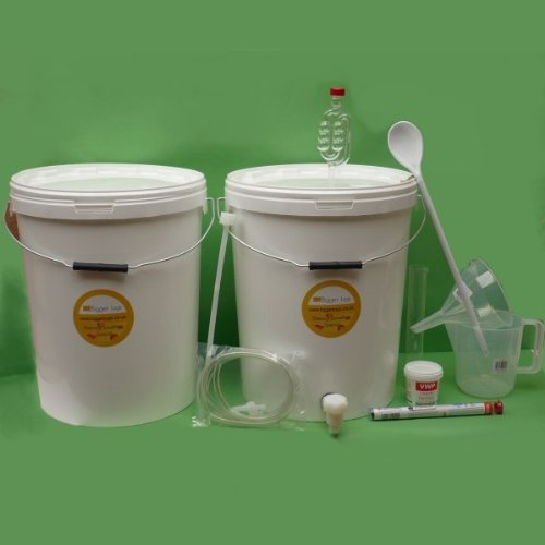 BJ #5s Kit - 25L Premium Winemaking Equipment Set (30 bottles size) Bigger Jugs