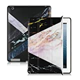 Beydodo Plastic Protective Case Compatible with Ipad 2 Case Notebook Black Gold Case Compatible for iPad 2/3/4