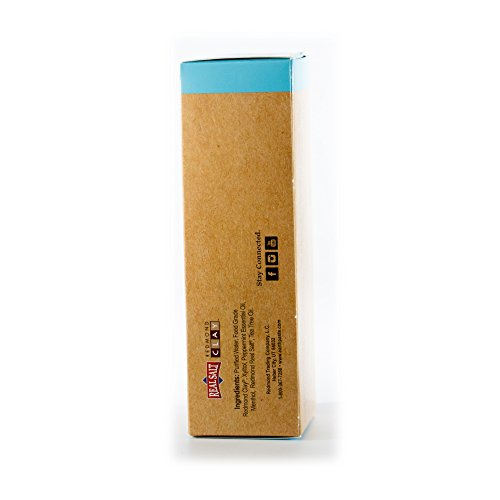 Redmond Earthpaste - Natural Non-Fluoride Toothpaste- Peppermint (2 pack- 2 x 4 Ounce Tube) by REDMOND (Image #1)'
