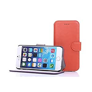 DUR Unique Design PU Leather Cover for iPhone 6(Assorted Colors) , Blue