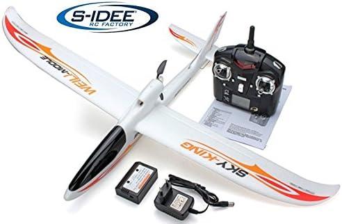 s-idee® 01654 F959 Sky King - Avión teledirigido con tecnología de 2,4 GHz con batería Lipo