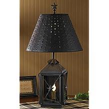 Park Designs Antique Colonial Inspired Blackstone Lantern Lamp