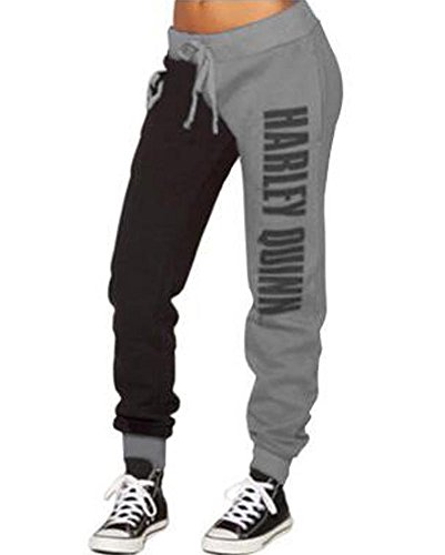 O-will Women Cosplay Costumes Casual Joggers Trousers Sport Gym Pants -
