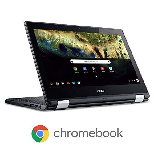 Acer Chromebook R 11 Convertible Laptop, Celeron N3060, 11.6″ HD Touch, 4GB DDR3L, 32GB eMMC, C738T-C7KD