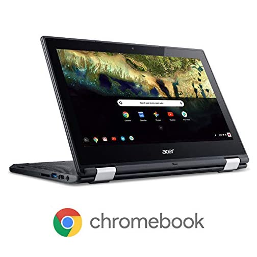 "Acer Chromebook R 11 Convertible Laptop, Celeron N3060, 11.6"" HD Touch, 4GB DDR3L, 32GB eMMC, C738T-C7KD 1"