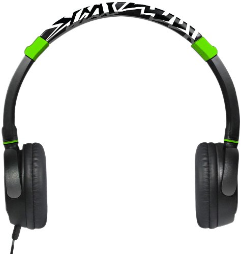 Swag Deejay Headphones- Green- SPL2011-GRN by SWAGG
