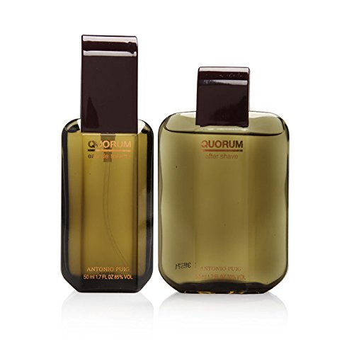 Quorum By Puig For Men. Set-edt Spray 1.7 Ounces & Aftershave 1.7 Ounces (1.7 Ounce Edt Cologne)