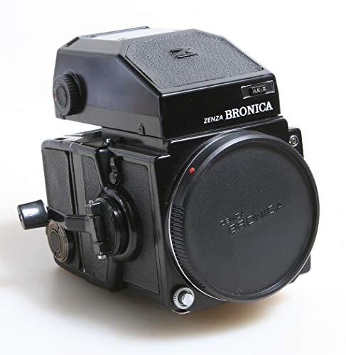 ZENZA BRONICA ETRS Medium Format Camera W/Prism VIEWFINDER & 120 Film Back (Bronica Prism Finder)