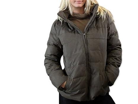 GIN TONIC Damen Winterjacke oliv - Winterjacke - grün , Größe 44 ... 7eeeb0ba6a