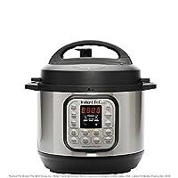 Instant Pot Duo Mini 7-en-1 olla a presión eléctrica, olla de cocción lenta, olla arrocera, vaporera, salteado, yogurt y calentador   3 cuartos   11 programas de un toque