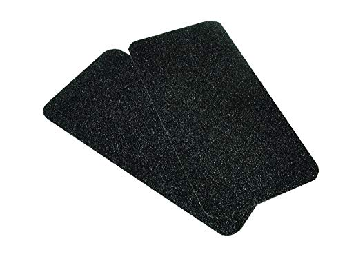 attwood 6260-4 Marine Boat Non-Skid 6-Inch x 12-Inch Adhesive Traction Pads, Set of 2 (Boat Step Pads)
