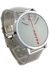 Youyoupifa New Fashion White Dial Sliver Strap Quartz Wrist Watch NBW0QU7659-WH3