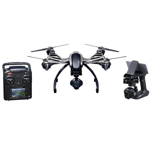 Yuneec Q500 4K Typhoon Quadcopter Drone RTF with CGO3 Camera, ST10+ &...