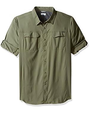 Men's Big-Tall Silver Ridge Lite Long Sleeve Shirt, Cypress, X-Large