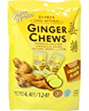 Ginger Chews (3packs) - Delicious Ginger Candies - Soft & Chewy