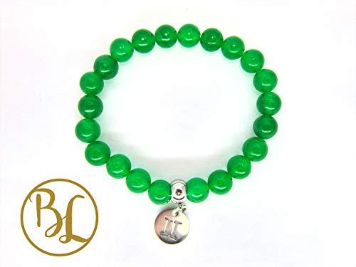 Gemini Charm Bracelet Gemini Zodiac Bracelet Mala Gemini Gemstone Mala Gemini May June Zodiac Bracelet Yoga Meditation Mala Gemini Bracelet ()