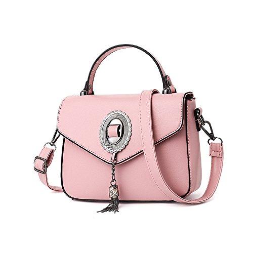 qualité haute Satchel bandoulière à Crossbody Sacs Tote femmes Pink Designer sac les Fashion main de pour à qwpxIt