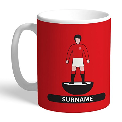 Manchester United Official Personalized FC Player Figure Mug - FREE PERSONALISATION by Manchester United