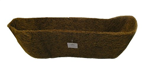 24'' Long Molded Coco Fiber Replacement Liner for window hayrack by Garden Artisans