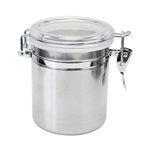 Hysagtek 980ML Sealed Airtight Canister Kitchen Dry Food Storage Coffee Sugar Container (Canned Milk Cover compare prices)