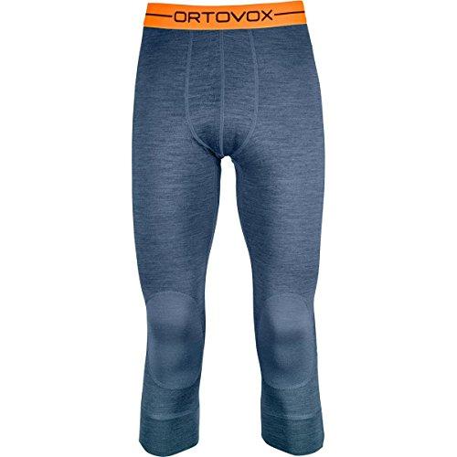 Expedition Pant Blue (Ortovox Men's Rock'n'Wool 185 Short Pants Night Blue Blend L)