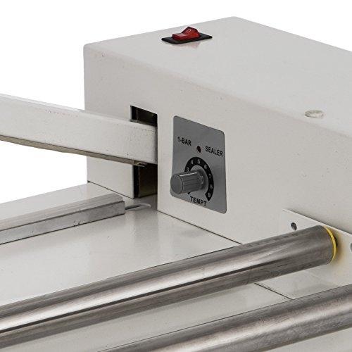 VEVOR 24'' I-Bar Shrink Wrap Machine with Heat Gun I-bar Sealer Compatible with PVC POF Film Shrink Wrap Sealer for Home Commercial Use (24 Inch) by VEVOR (Image #8)