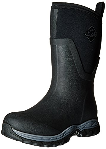 Muck Arctic Sport ll Extreme Conditions Mid-Height Rubber Women's Winter Boots, 7 M US, Black ()
