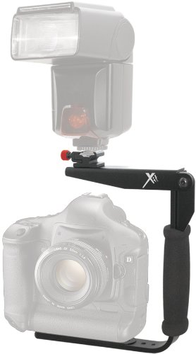 Xit XTRTFB 180Degree Quick Flip rotating Flash Bracket (Black) by Xit