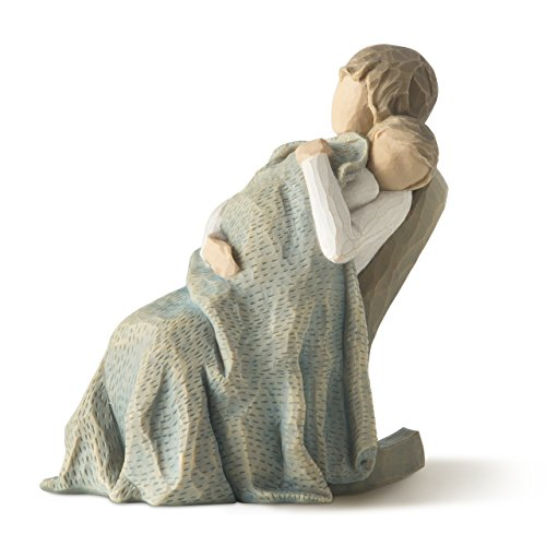 Willow Tree hand-painted sculpted figure, The Quilt ()