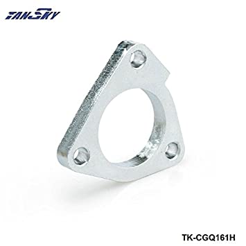 3 Bolt turbo compressor oulet flange For GT25/GT28/t25/t28 aftermarket T25/T28 turbo TK-CGQ161H: Amazon.es: Coche y moto